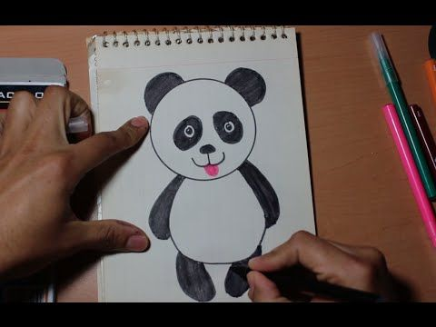 The 25 best Oso panda para dibujar ideas on Pinterest  Pandas