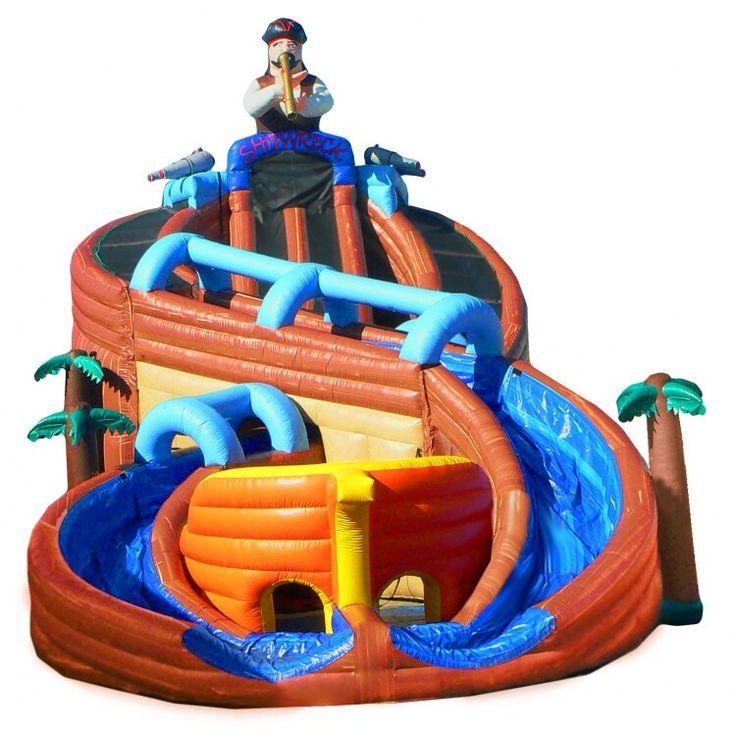 Inflatable Water Slide Target Australia: Inflatable Water Slide