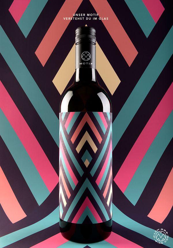 MOTIF Fine Art Wine on Behance