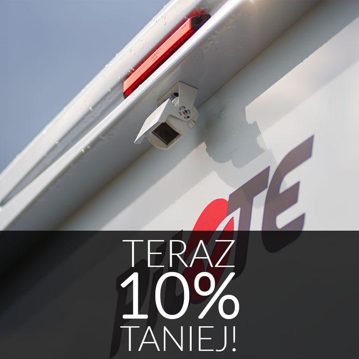 """Jesienne przeceny w sklepie Akcesoria-kempingowe.pl nadal trwają!  Tym razem obniżamy o 10% ceny wszystkich kamer cofania, o których niedawno pisaliśmy na blogu CarGO! Wystarczy w pole kupon rabatowy wpisać hasło """"zamykamysezon2016"""" i gotowe!  http://www.akcesoria-kempingowe.pl/multimedia/kamery-cofania/"""