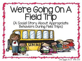 Were Going On A Field Trip (A Social Story About Appropriate Behaviors During A Field Trip) is a great way to help students prepare for how to handle the experience of attending a field trip. So many students today lack the skills and understanding of what is expected of them when they are faced with change, and social stories provide instruction on how to handle those changes in a positive, appropriate way.