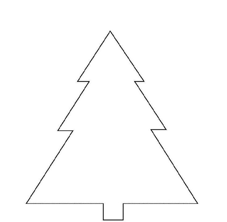 Print Basic Christmas Tree Coloring Page or Download Basic Christmas Tree Coloring Page – Free Online Coloring Pages For Kids