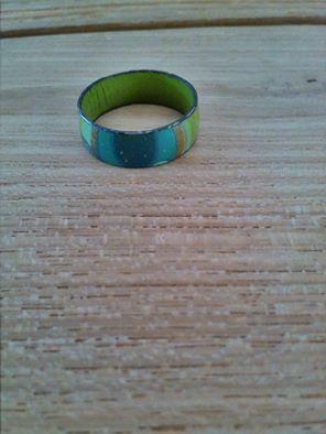 Ring voor een smalle vinger.