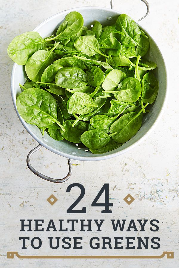 24 healthy ways to use greens