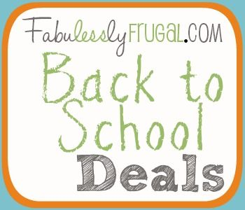 The sales have begun! Find all the best Back to School Deals | Fabulessly Frugal