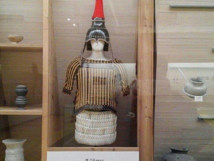백제의 뼈 갑옷 #한성백제_박물관-Baekje's bone armor #Hansungbaekje_museum