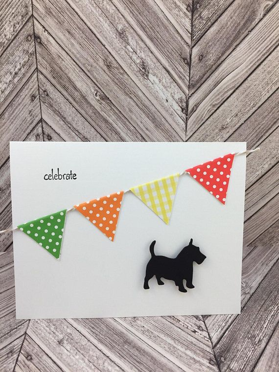 Dog Birthday Card Celebrate Happy All Occasion Greeting