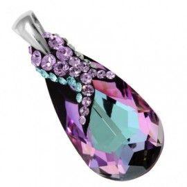 pandant luxos http://www.bijuteriifrumoase.ro/cumpara/pandant-frame-crystallized-pear-p-22-3171
