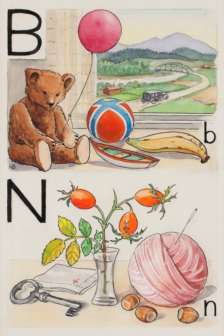Elsa Beskow: B-björn och N-nypon