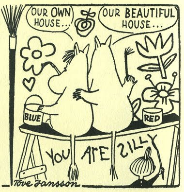 Moomintroll and Snork Maiden