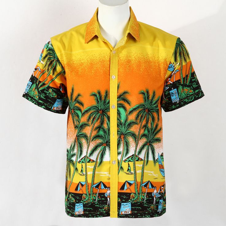 Cheap shirt supplier, Buy Quality shirt personalized directly from China shirt dresses for work Suppliers:                                        2015 Brand Summer Hawaiian Men's Hawaii Beach Shirt, Men Short Sleeve Floral Loos