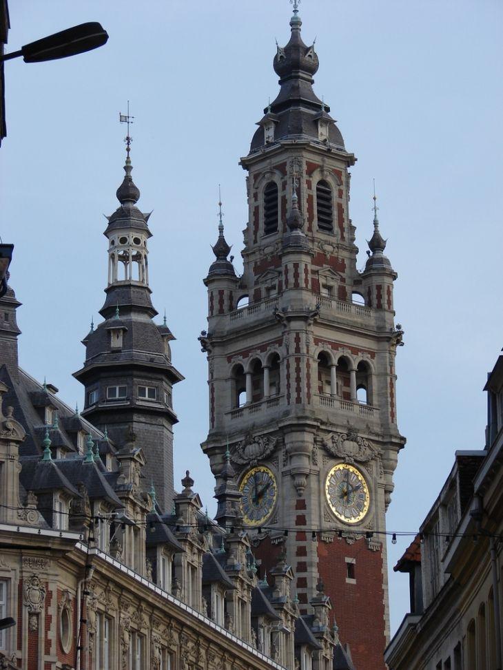 Photo A Lille 59000 Le Beffroi De La Chambre De Commerce Lille 43759 Communes Com En 2020 Chambre De Commerce Lille Lille Ville