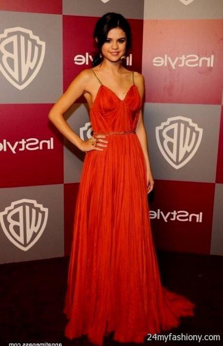 Selena Gomez Red Dress ile ilgili Pinterest'teki en iyi 25 fikir ...
