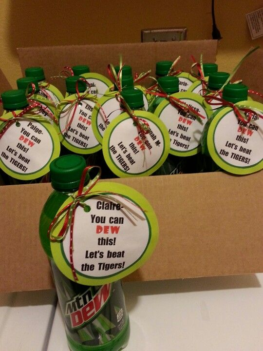 """Before game"" gift 
