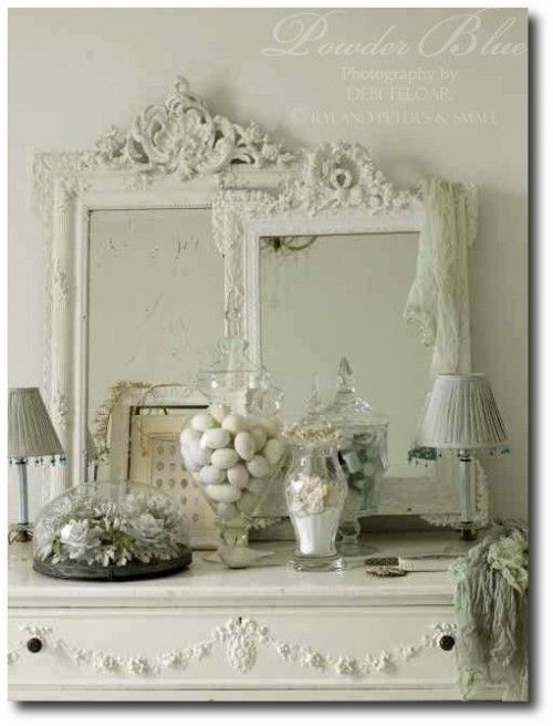 Adding French appliques and mold to your furniture and walls