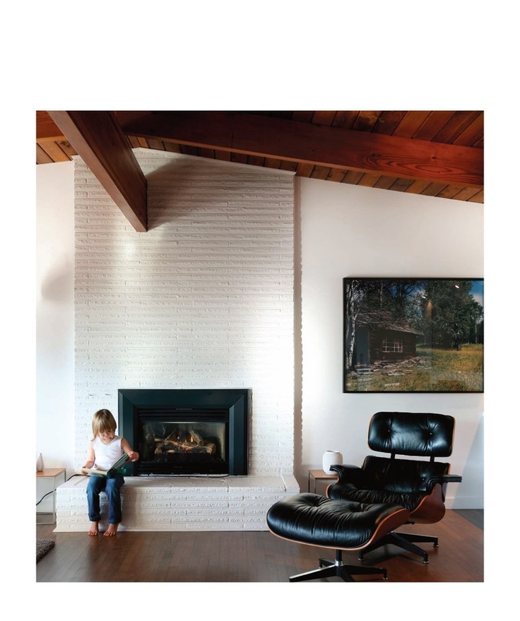 clean mid-century living space: 2010 design contest winners for 'best house', via canadian house & home, april 2010.
