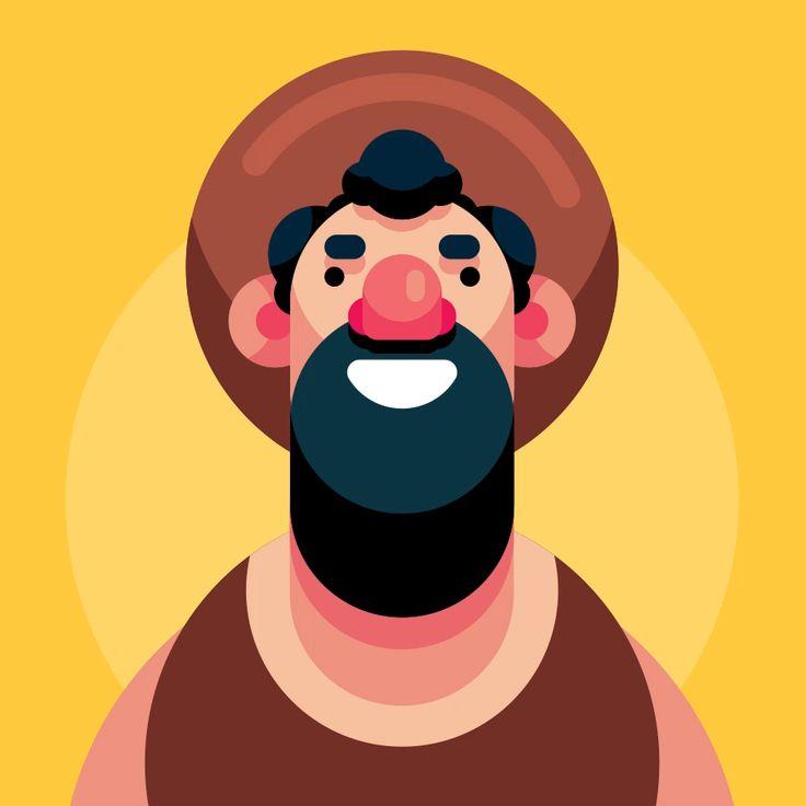 Flat Design Character Illustration In Adobe Illustrator CC 2019