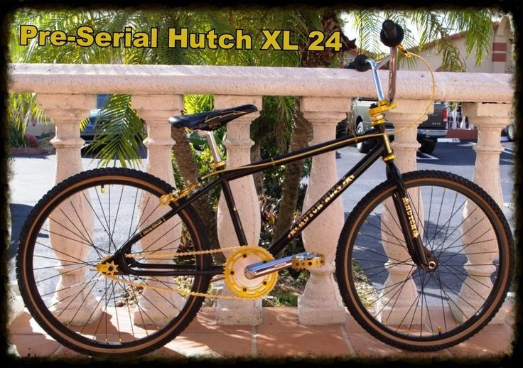 "Hutch 24"" BMX cruiser"