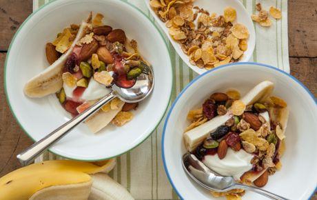Breakfast Banana Splits