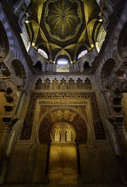 Mihrab, Mezquita, Cordoba, Andalucia | Flickr - Photo Sharing!