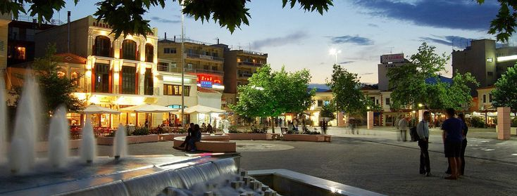 Square at Komotini, Rodopi