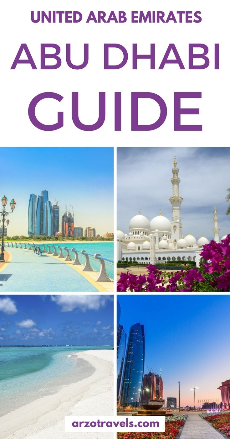 Abu Dhabi Guide- All you need to know before traveling to the capital of the UAE, Abu Dhabi. Things to see and do in Abu Dhabi, where to sleep, what to know.