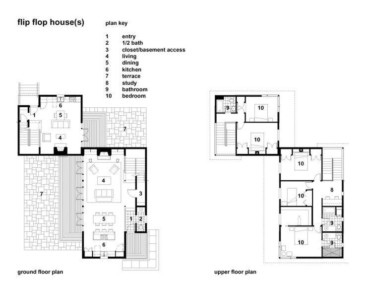 NOTE: Mohler + Ghillino Flip Flop House | Fabulous Floor Plans | Pinterest Part 69