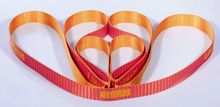 custom printed nylon grosgrain ribbon