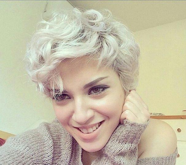 De kleuren voor eind 2016: Platina, zilver, licht blond... 13 trendy korte kapsels - Kapsels voor haar