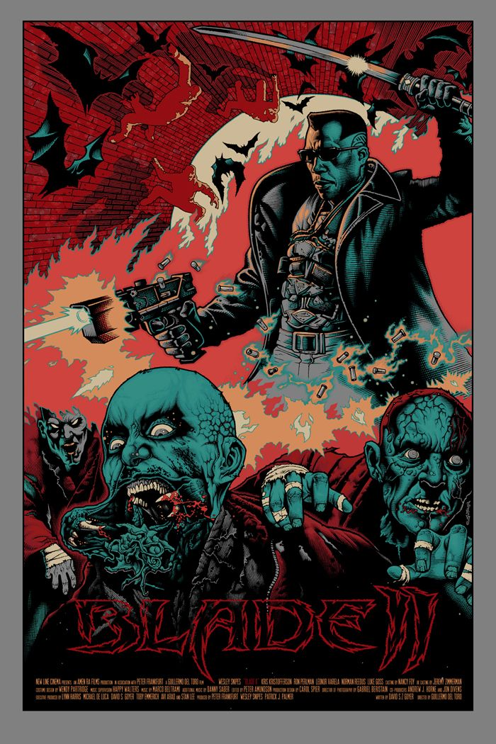 Mike Sutfin : Blade 2 Posters