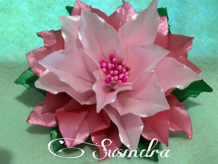 Ribbon flower by susindra.com