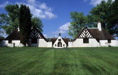 Alberly Manor, William H. Albers Estate, Cincinnati, 1928, | Bloodgood Tuttle, architect