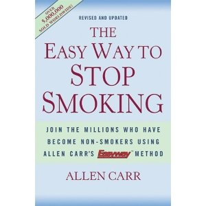 The Easy Way to Stop Smoking: Join the Millions Who Have Become Non-Smokers Using Allen Carr's Easyway Method (Hardcover)  http://www.amazon.com/dp/1402718616/?tag=goandtalk-20  1402718616
