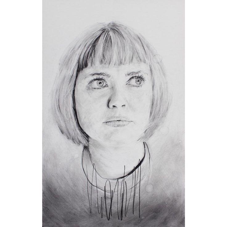 David Fooks - Q&S 45. Erin Charcoal Portrait