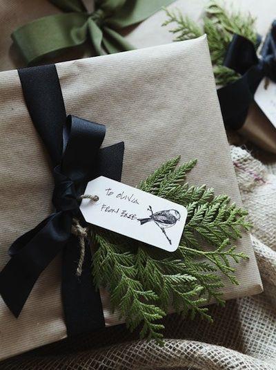 paquet cadeau noel