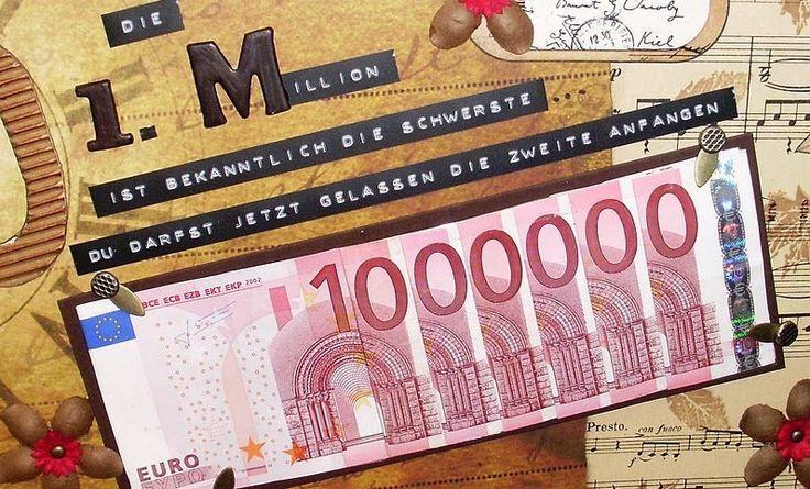 Machen Sie gerne Geldgeschenke? Schenken Sie es dann auf eine originelle Art und Weise mit diesen 16 Ideen! - DIY Bastelideen