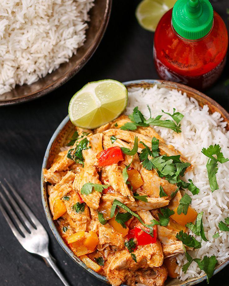 Curry thaï à la dinde - 12 recettes à la dinde pour utiliser ses restes de Noël