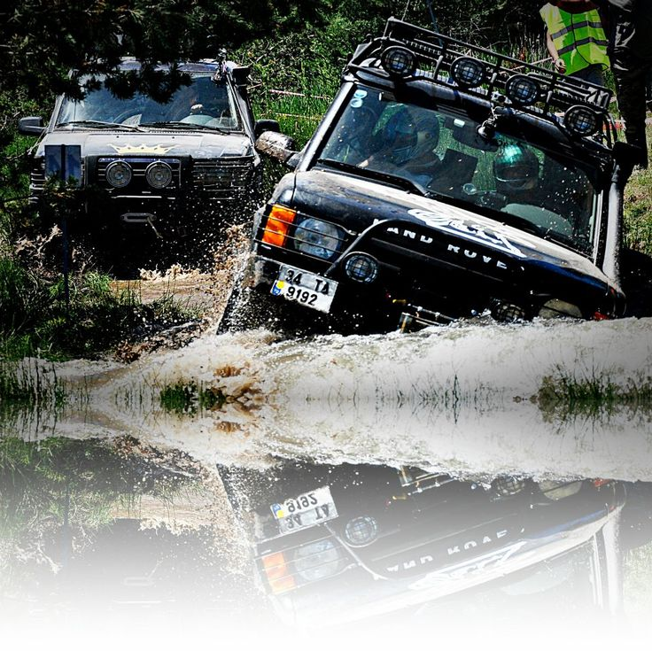 Land Rover Discovery 2 V8 Off Road su geçişi - www.Boloff.com