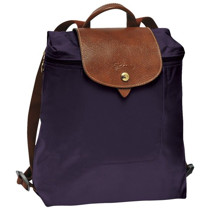 LONGCHAMP LE PLIAGE BACKPACK BILBERRY - LONGCHAMP