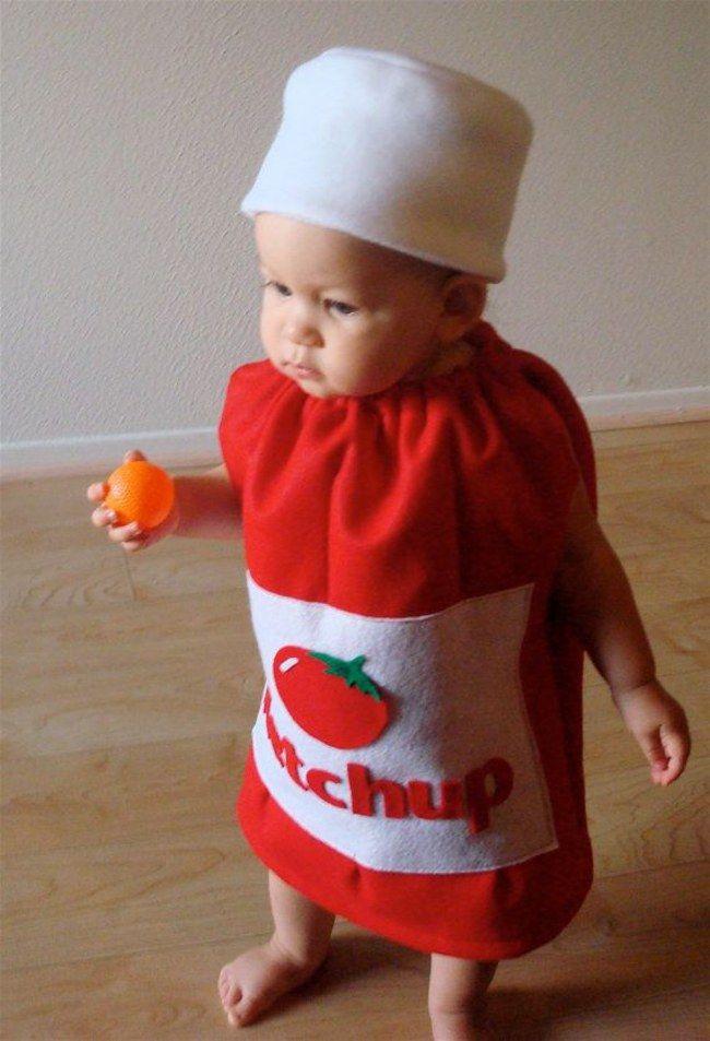 Il ketchup | I costumi di Carnevale per bambini più originali di sempre