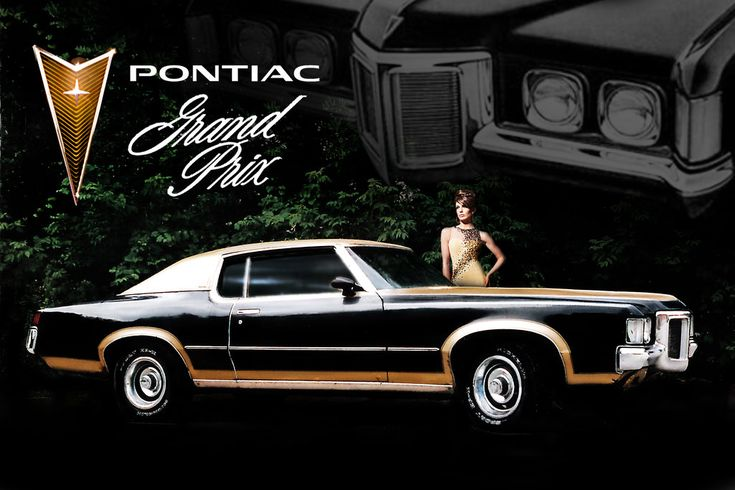 70's pontiac ad | 1969 Pontiac Grand Prix SJ period ad 2 with model by Domestrialization ...