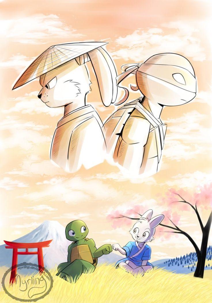 TMNT - The Ninja and the Samurai by Myrling