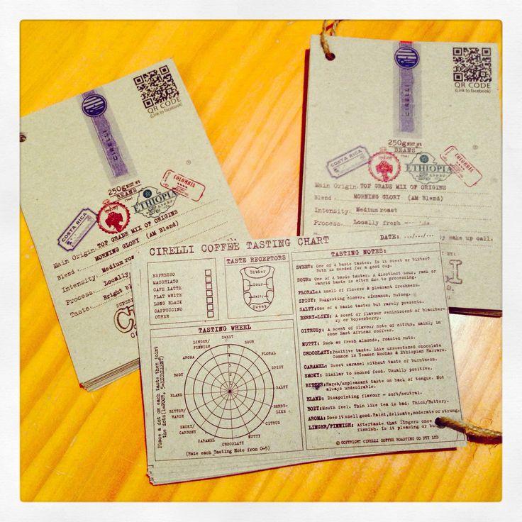 CCR Tasting Cards