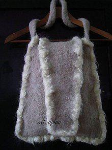 Veľké tašky - pure nature/plstená - ihneď - 4477569_