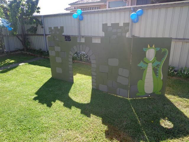 Penny Pinching Parties: 3 year old Knights party
