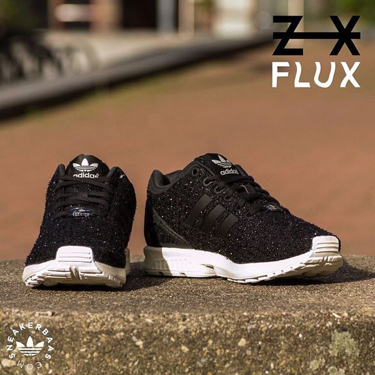 #adidas #adidasoriginals #originals #zxflux Adidas ZX Flux- The Adidas ZX Flux is a Low-profile and great looking sneaker with a comfortable upper and technical Adidas Torsion sole. This ZX Flux W is made with a black upper and a white midsole.