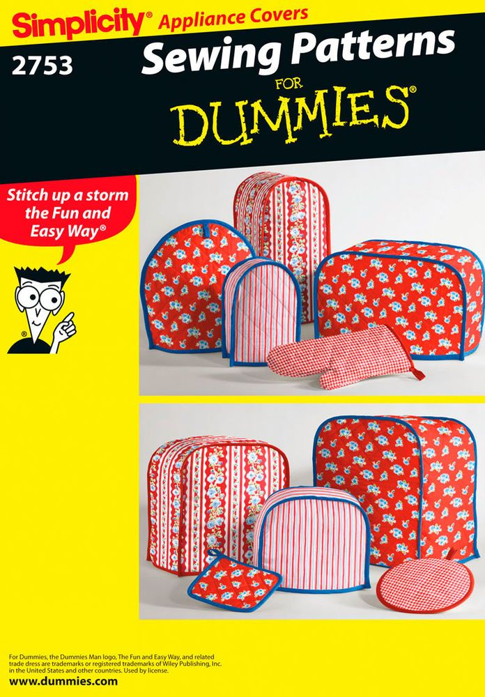 Appliance Covers Pot Holders And Mitt Sewing For Dummies Collection