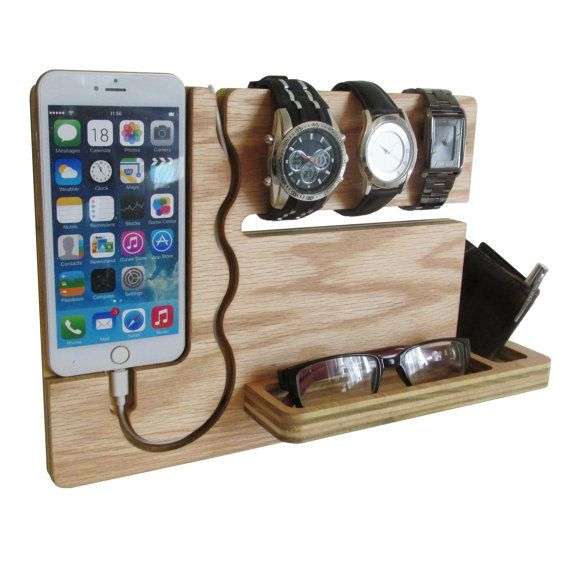 The Watch and Eye dock is minimalistic and a feature rich solution to both charge and display your Iphone