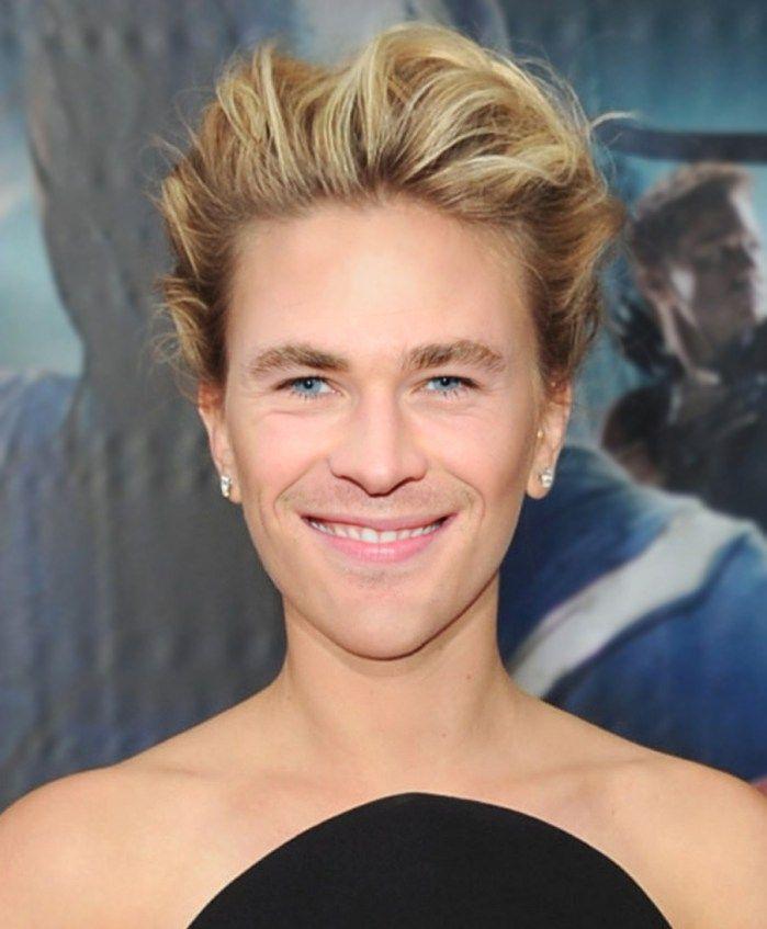 Celebrity Gender Swap Photos: Scarlett Johansson and Chris Hemsworth