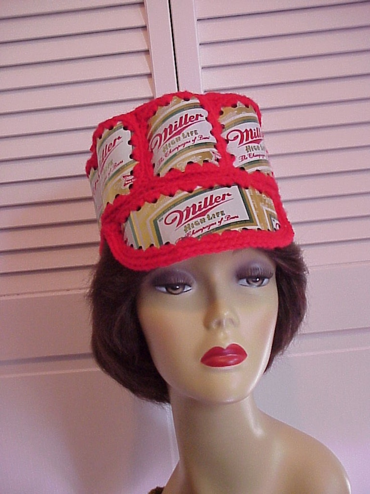 Crochet Beer Can Cowboy Hat Pattern : 1000+ images about Beer Can Crafts on Pinterest Beer ...